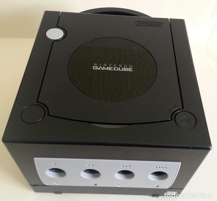 Videojuegos y Consolas: CONSOLA GAMECUBE NEGRA CON MANDO Y CABLES - Foto 4 - 173790332