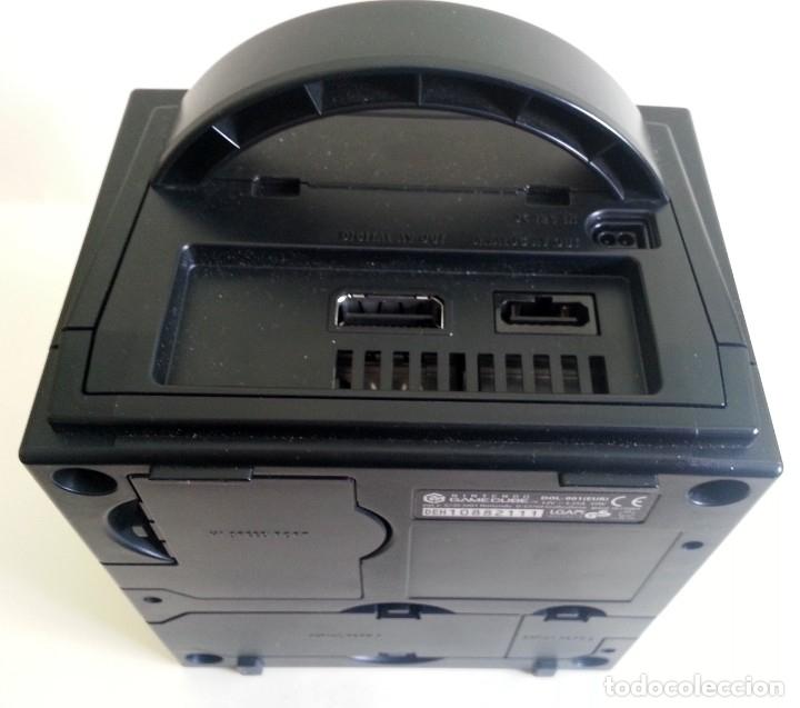 Videojuegos y Consolas: CONSOLA GAMECUBE NEGRA CON MANDO Y CABLES - Foto 7 - 173790332