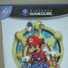 Videojuegos y Consolas: SUPER MARIO SUNSHINE NINTENDO GAME CUBE PAL CON MANUAL DE INSTRUCCIONES GAME CUBE. Lote 183215920