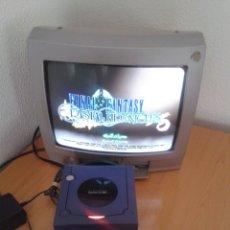 Videojuegos y Consolas: CONSOLA NINTENDO GAME CUBE DOL-001 MORADA PURPLE PLENO FUNCIONAMIENTO PAL LEER! R9348. Lote 177567757