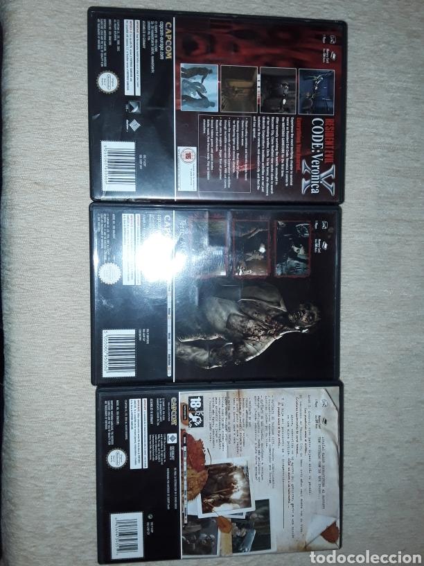 Videojuegos y Consolas: Lote 3 juegos resident evil, x, 0, 4 gamecube nintendo - Foto 2 - 177772354
