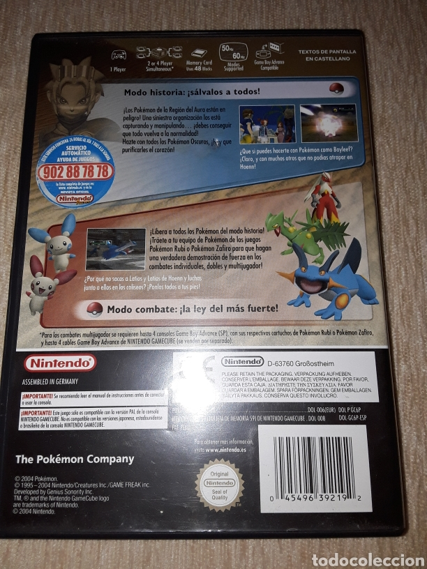 Videojuegos y Consolas: POKEMON COLOSSEUM GAMECUBE NINTENDO - Foto 2 - 178678718