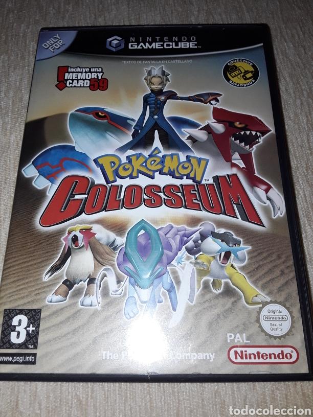 POKEMON COLOSSEUM GAMECUBE NINTENDO (Juguetes - Videojuegos y Consolas - Nintendo - Gamecube)