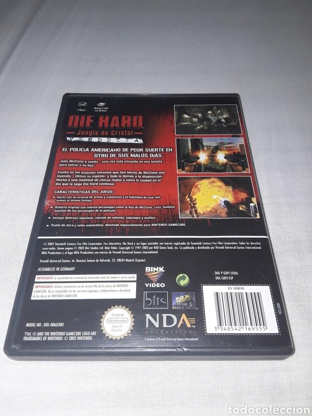 Videojuegos y Consolas: DIE HARD LA JUNGLA DE CRISTAL GAMECUBE NINTENDO - Foto 2 - 179057071