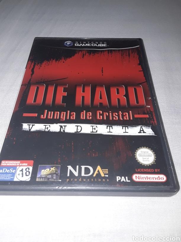 DIE HARD LA JUNGLA DE CRISTAL GAMECUBE NINTENDO (Juguetes - Videojuegos y Consolas - Nintendo - Gamecube)