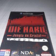Videojuegos y Consolas: DIE HARD LA JUNGLA DE CRISTAL GAMECUBE NINTENDO. Lote 179057071