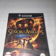 Videojuegos y Consolas: EL SEÑOR DE LOS ANILLOS, LA TERCERA EDAD GAMECUBE NINTENDO. Lote 205351958