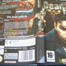 Videojuegos y Consolas: DEAD TO RIGHTS - NINTENDO - GAMECUBE - USADO - PAL ESP. Lote 135573030