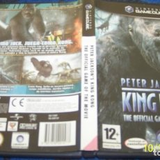 Videojuegos y Consolas: KING-KONG-PETER-JACKSON-039-S-GAMECUBE-PAL. Lote 179337278