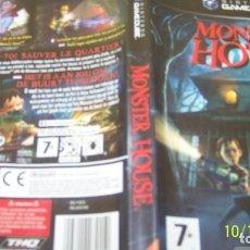 Videojuegos y Consolas: MONSTER HOUSE GAMECUBE PAL FRANCES . Lote 179337398