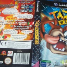 Videojuegos y Consolas: TAZ WANTED PAL ESP GAMECUBE . Lote 179338116