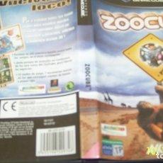 Videojuegos y Consolas: ZOOCUBE PAL ESP GAMECUBE . Lote 179339030