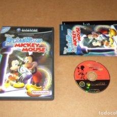 Videojuegos y Consolas: DISNEY MAGICAL MIRROR ST. MICKEY MOUSE PARA NINTENDO GAMECUBE / GAME CUBE, PAL. Lote 179899250