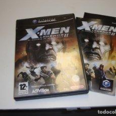 Videojuegos y Consolas: NINTENDO GAME CUBE X-MEN LEGENDS 2 EL ASCENSO DE APOCALIPSIS - COMPLETO. Lote 180039556