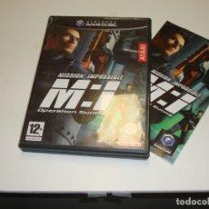 Videojuegos y Consolas: NINTENDO GAME CUBE MISSION IMPOSSIBLE OPERATION SURMA - COMPLETO. Lote 180039682