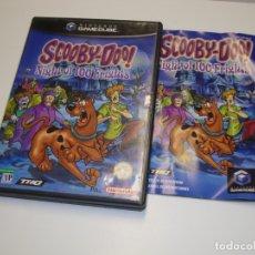 Videojuegos y Consolas: NINTENDO GAME CUBE SCOOBY-DOO NIGHT OF 100 FRIGHTS - COMPLETO. Lote 180040760