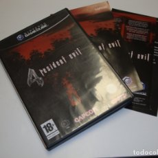 Videojuegos y Consolas: NINTENDO GAME CUBE RESIDENT EVIL 4 - COMPLETO. Lote 180040840