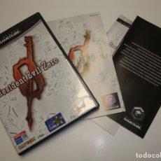 Videojuegos y Consolas: NINTENDO GAME CUBE RESIDENT EVIL ZERO - COMPLETO. Lote 180040896