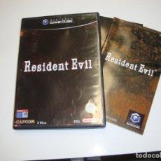 Videojuegos y Consolas: NINTENDO GAME CUBE RESIDENT EVIL - COMPLETO. Lote 180040988