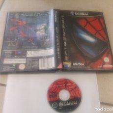 Videojuegos y Consolas: SPIDER-MAN SPIDERMAN NINTENDO GAMECUBE PAL-ESPAÑA. Lote 182090143