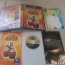 Videojuegos y Consolas: DONKEY KONGA NINTENDO GAMECUBE PAL-UK PERO TEXTOS EN ESPAÑOL. Lote 194155372