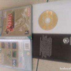 Videojuegos y Consolas: ZELDA THE WINDWAKER NINTENDO GAMECUBE PAL-UK PERO TEXTOS EN ESPAÑOL . Lote 182090880