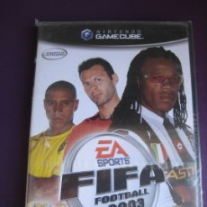 Videojuegos y Consolas: FIFA FOOTBALL 2003 - NINTENDO GAMECUBE PRECINTADO - FUTBOL. Lote 182348066