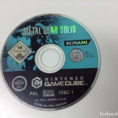 Videojuegos y Consolas: METAL GEAR SOLID THE TWIN SNAKES . SOLO DISCO 1. Lote 183548460