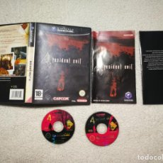 Videojuegos y Consolas: RESIDENT EVIL 4 GAME CUBE PAL ESPAÑA COMPLETO. Lote 185926171