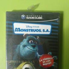 Videojuegos y Consolas: MONSTRUOS S.A. GAMECUBE PRECINTADO. Lote 187166280