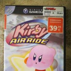 Videojuegos y Consolas: CAJA E INSTRUCCIONES KIRBY AIR RIDE GAME CUBE. Lote 202281828