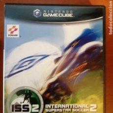 Videojuegos y Consolas: JUEGO INTERNATIONAL SUPERSTAR SOCCER 2 ISS 2 PARA NINTENDO GAMECUBE. Lote 190339095
