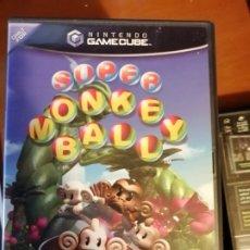 Videojuegos y Consolas: JUEGO SUPER MONKEY BALL PARA NINTENDO GAMECUBE. Lote 190410111