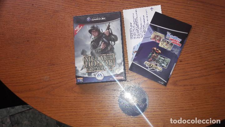 JUEGO NINTENDO GAMECUBE MEDAL OF HONOR FRONLINE (Juguetes - Videojuegos y Consolas - Nintendo - Gamecube)