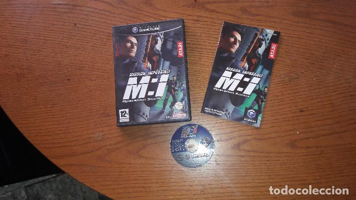 JUEGO NINTENDO GAMECUBE MISSION IMPOSSIBLE OPERATION SURMA (Juguetes - Videojuegos y Consolas - Nintendo - Gamecube)