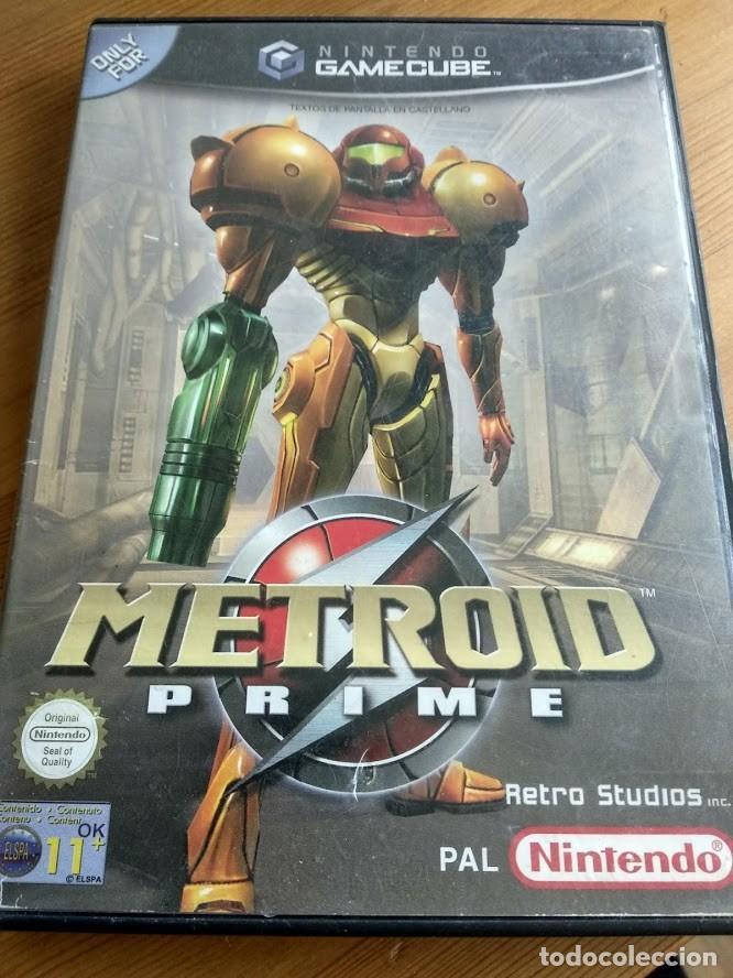 METROID PRIME NINTENDO GAMECUBE PAL ESPAÑA SIN MANUAL (Juguetes - Videojuegos y Consolas - Nintendo - Gamecube)