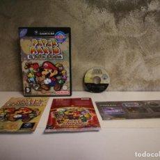 Videojuegos y Consolas: PAPER MARIO GAME CUBE COMPLETO. Lote 193636745
