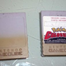 Videojuegos y Consolas: MEMORY CARD GAMECUBE.POKEMON COLOSSEUM + 1. Lote 193852721