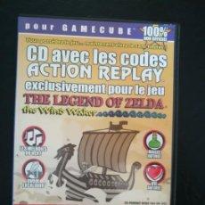 Videojuegos y Consolas: THE LEGEND OF ZELDA - ACTION REPLAY - CODIGOS PARA JUGAR CON ZELDA THE WIND WAKER. Lote 194027783