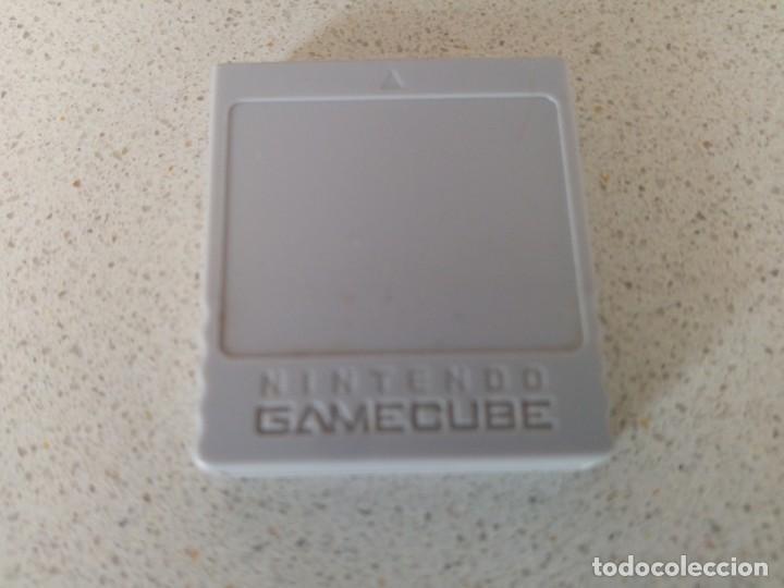 MEMORY NINTENDO GAMECUBE GC ORIGINAL (Juguetes - Videojuegos y Consolas - Nintendo - Gamecube)