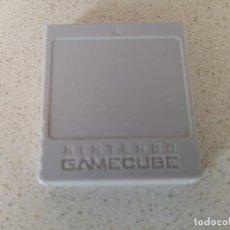 Videojuegos y Consolas: MEMORY NINTENDO GAMECUBE GC ORIGINAL . Lote 194115492