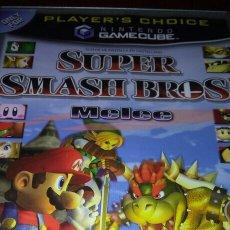 Videojuegos y Consolas: SUPER SMASH BROS MELEE GAMECUBE COMPLETO PAL ESP NINTENDO. Lote 194144746