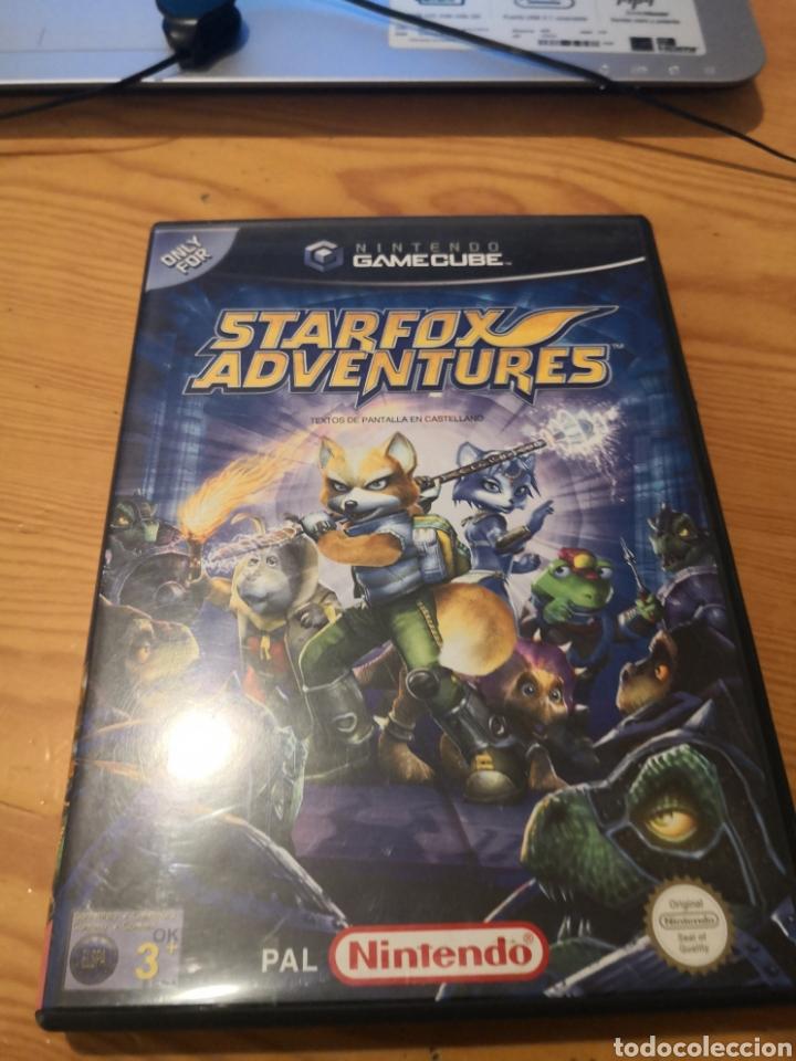 STARFOX ADVENTURES (Juguetes - Videojuegos y Consolas - Nintendo - Gamecube)