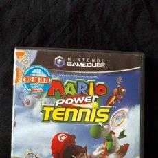 Videojuegos y Consolas: MARIO POWER TENNIS - NINTENDO GAMECUBE - PAL - COMPLETO - TENIS. Lote 194604302