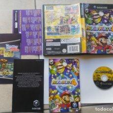 Videojuegos y Consolas: MARIO PARTY 4 NINTENDO GAMECUBE COMPLETO PAL-ESPAÑA. Lote 194784143