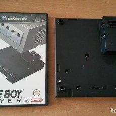 Videojuegos y Consolas: GAME BOY PLAYER + DISCO GAMECUBE GAMEBOY. Lote 195136500
