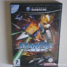 Videojuegos y Consolas: STAR FOX ASSAULT GAMECUBE. Lote 195291297