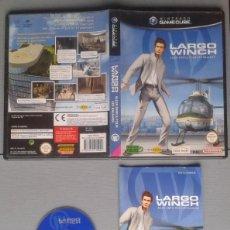 Videojuegos y Consolas: NINTENDO GAMECUBE LARGO WINCH COMPLETO CAJA MANUAL CIB PAL LEER!! R10124. Lote 195372135