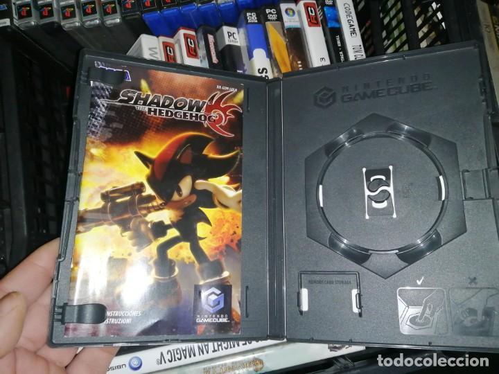 SONIC SHADOW THE HEDGEHOD SOLO CAJA E INSTRUCCIONES GAME CUBE (Juguetes - Videojuegos y Consolas - Nintendo - Gamecube)