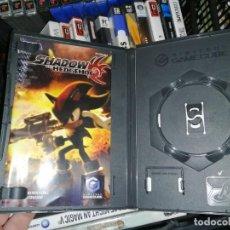 Videojuegos y Consolas: SONIC SHADOW THE HEDGEHOD SOLO CAJA E INSTRUCCIONES GAME CUBE. Lote 198075603
